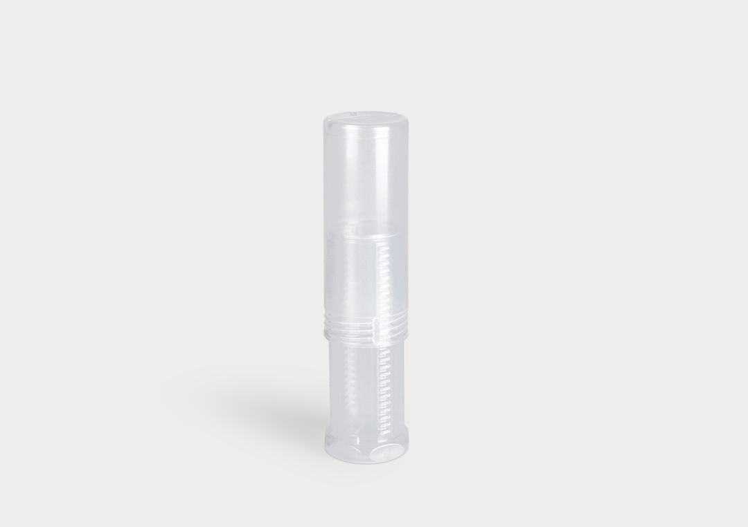 Packaging tube TwistPack Plus: maximum flexibility through universal length adjustment.
